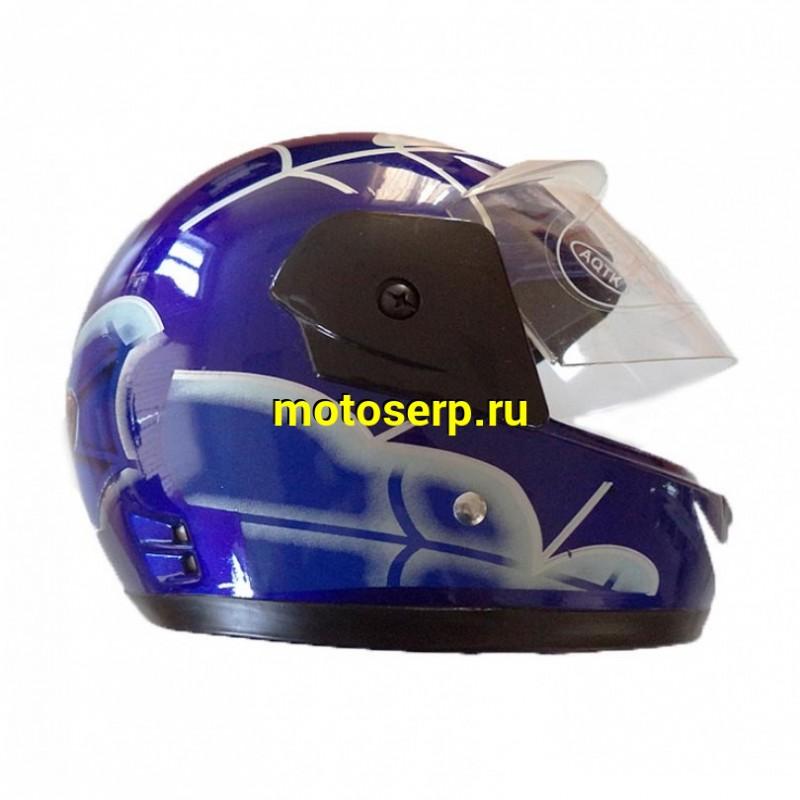 Купить  Шлем закрытый FALCON XZС01 детский размер (интеграл) (шт) (MM 97160 купить с доставкой по Москве и России, цена, технические характеристики, комплектация - motoserp.ru
