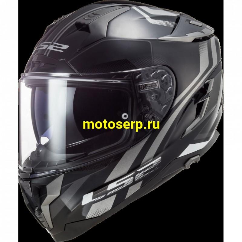 Купить  Шлем закрытый  LS2 FF351 ATMOS GLOSS интеграл (шт) (LS2 купить с доставкой по Москве и России, цена, технические характеристики, комплектация - motoserp.ru