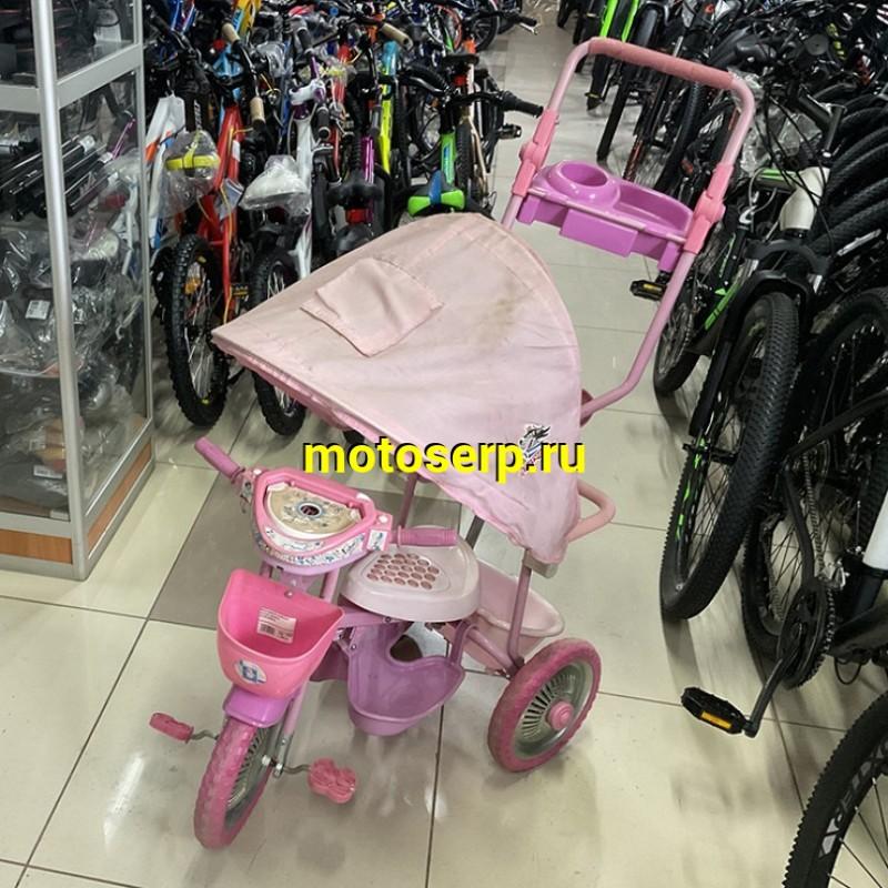 Купить  Велосипед УЦЕНКА 3-х колёсный детский в ассортименте купить с доставкой по Москве и России, цена, технические характеристики, комплектация - motoserp.ru