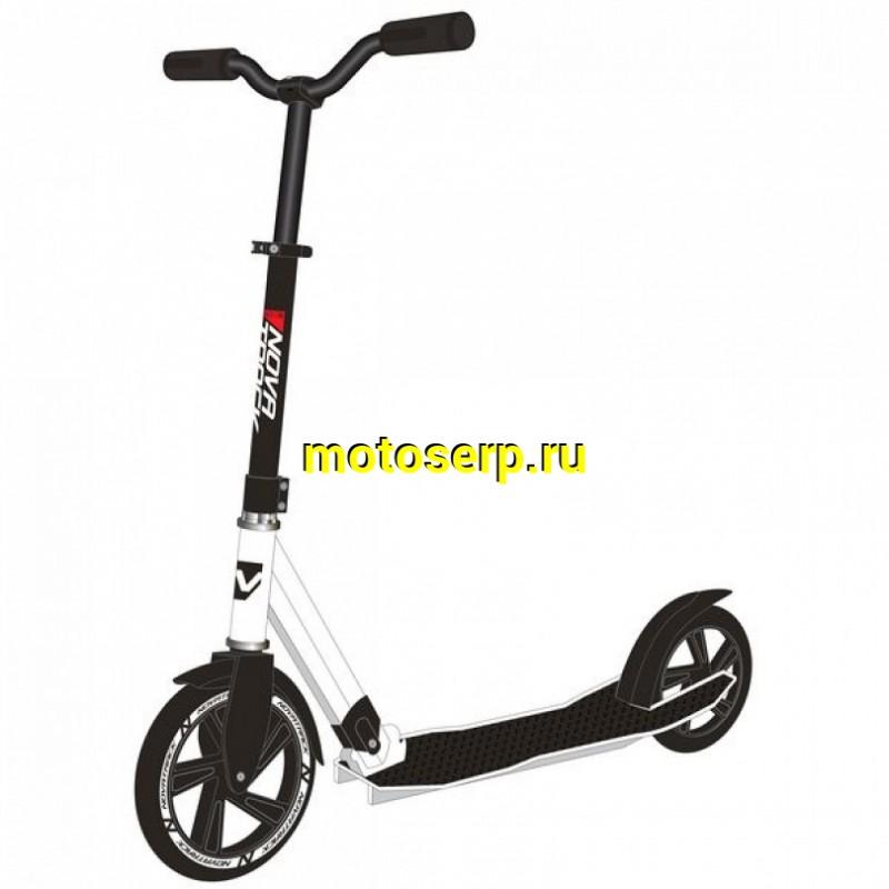 Купить  Самокат 2х колесный D 200 мм NOVATRACK DEFT (Новатрек Дефт) (шт) купить с доставкой по Москве и России, цена, технические характеристики, комплектация - motoserp.ru