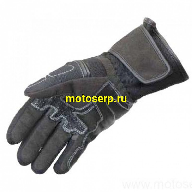 Купить  Перчатки RUSH EASY текстиль, цвет Черный, Размер S 31-04463 (пар) JP купить с доставкой по Москве и России, цена, технические характеристики, комплектация - motoserp.ru
