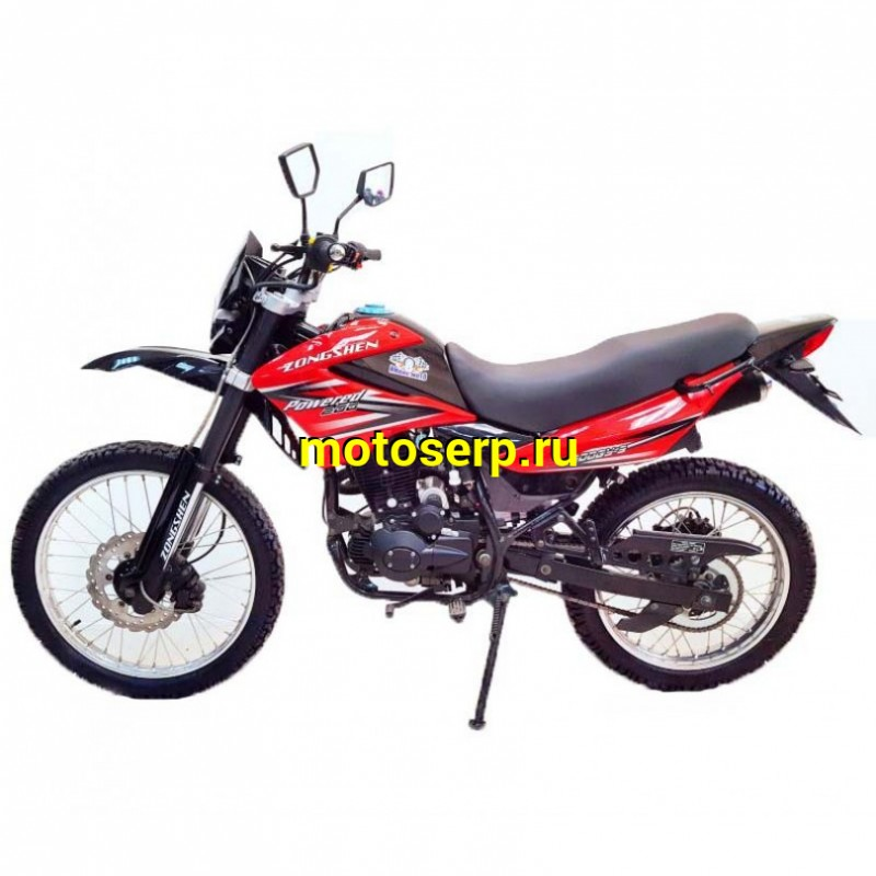 Купить  Мотоцикл Зонгшен Эндуро 200 ZONGSHEN ENDURO 200 цена характеристики запчасти доставка - motoserp.ru