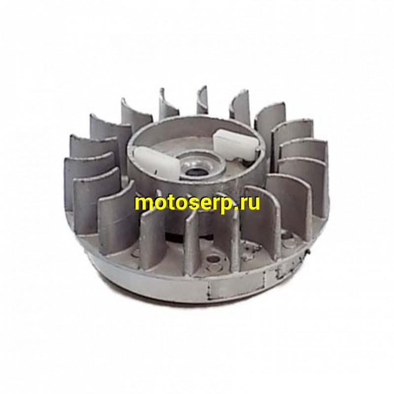 Купить  Ротор генератора  (магнит, маховик, крыльчатка, вторая часть стартера) 1E44FMB вариант 2  миниATV-50  (шт.) купить с доставкой по Москве и России, цена, технические характеристики, комплектация - motoserp.ru
