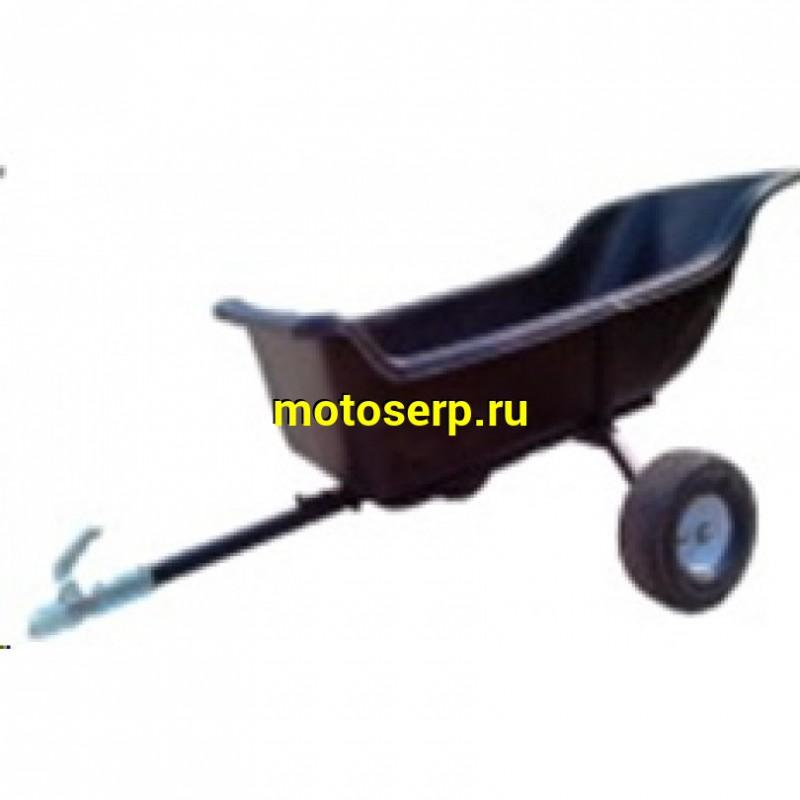 Купить  Прицеп пластиковый для сцепки с ATV 1900 (1,8х0,95х0,42) (шт) (ATVSTAR (зак) купить с доставкой по Москве и России, цена, технические характеристики, комплектация - motoserp.ru