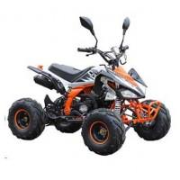 """motoserp.ru - 125cc Квадроцикл MOTAX ATV T-Rex-7  125 cc, спорт.детск 9-12 лет, автомат 1+1(реверс), 4Т, эл/ст., колеса 7"""", тормоза бараб/диск ножной (шт) - МотоВелоЦентр г.Серпухов"""