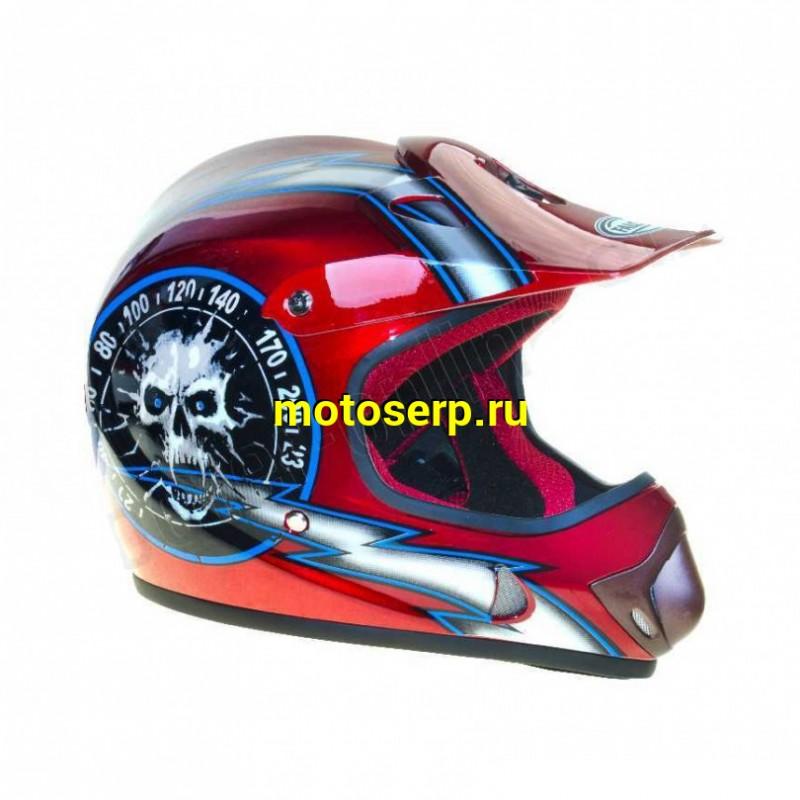 Купить  Шлем Кросс FALCON XZС03  детский (шт) (MM 29738 (MM 27464 (MM 29739 купить с доставкой по Москве и России, цена, технические характеристики, комплектация - motoserp.ru