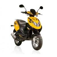 "motoserp.ru - Скутер GX Flash 150 (Флеш 150) 1,5-местн, 4-х тактн., 150cc, литые кол 12"", дисков тормоз, сигнализ. с автозапуском (шт) - МотоВелоЦентр г.Серпухов"