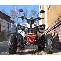 """motoserp.ru - 125cc Квадроцикл MOTAX ATV Raptor SUPER LUX 125cc, спорт.детск 9-12 лет, полуавтомат 3+1(реверс), 4Т, эл/ст, колеса 8"""" разношир, диск/диск ножной (шт) - МотоВелоЦентр г.Серпухов"""