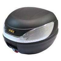 motoserp.ru - Кофр (ящик багажника) H-32Bw (420x400x305) (цв.черный, белый светоотражатель) (шт) (IR 4680329029799 - МотоВелоЦентр г.Серпухов