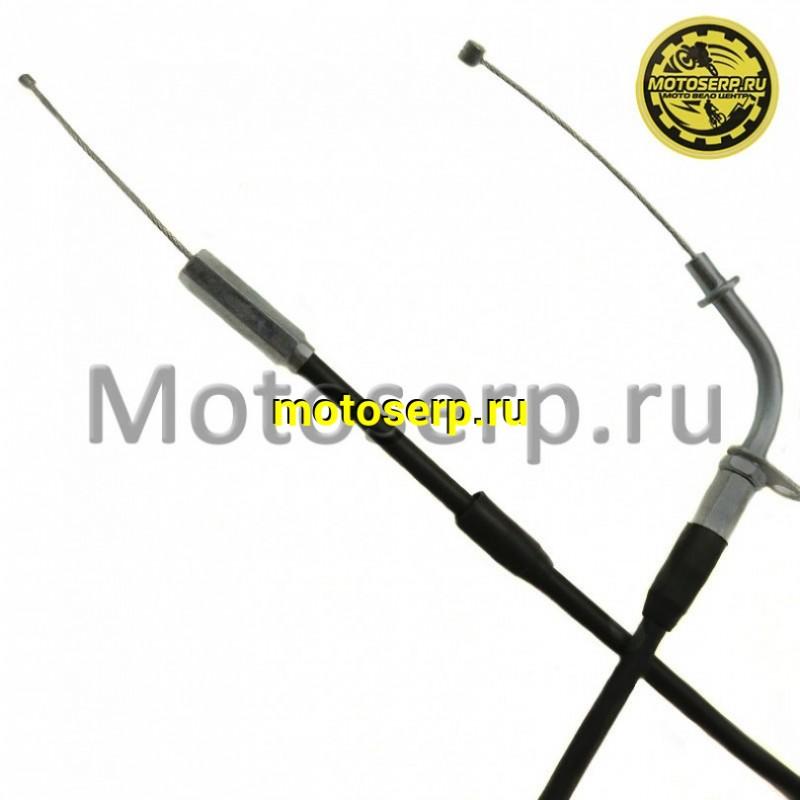 Купить  Трос газа  Yamaha YBR125 ТИП2(HL=820mm,FL=140mm);(шт) (Мир 32598 купить с доставкой по Москве и России, цена, технические характеристики, комплектация - motoserp.ru