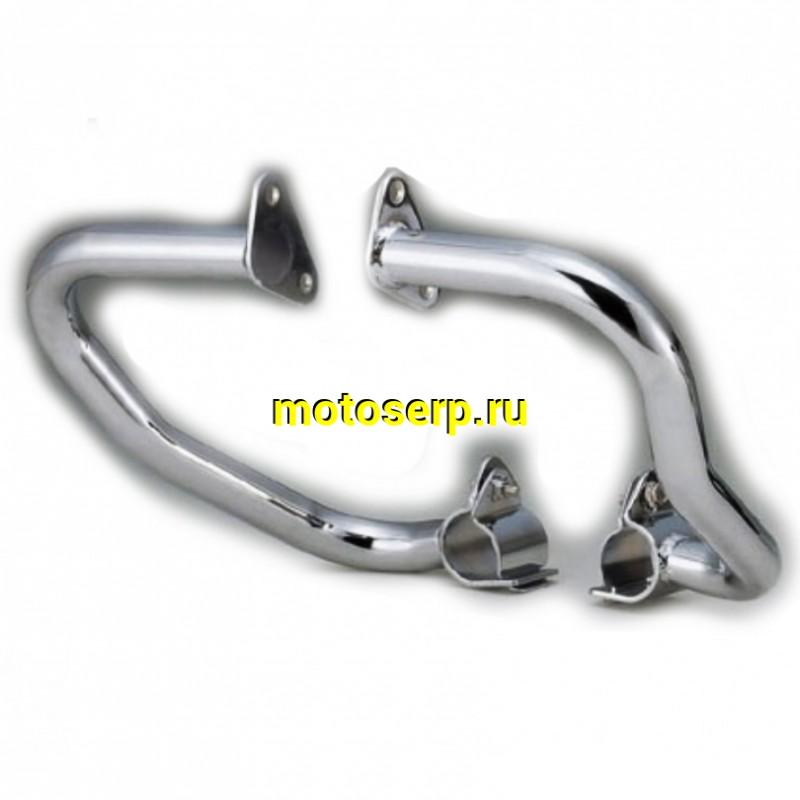 Купить  Дуги безопасности CB400 хром (комплект) (Мир 33735 купить с доставкой по Москве и России, цена, технические характеристики, комплектация - motoserp.ru