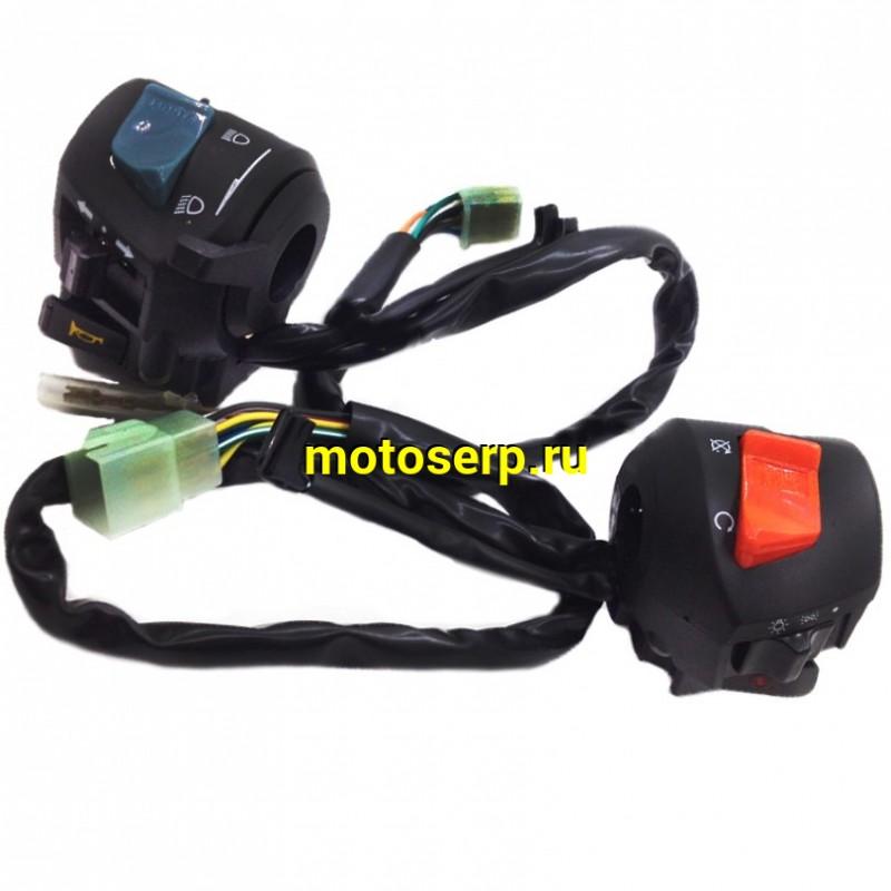 Купить  Переключатели руля (ПК) блок переключателя Honda CB400 (ком) (Мир 33780 купить с доставкой по Москве и России, цена, технические характеристики, комплектация - motoserp.ru