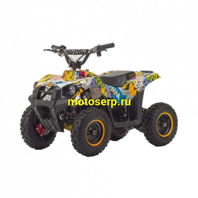 Купить  Квадроцикл электро MOTOLAND ATV E004  800Вт, диск/диск (шт) купить с доставкой по Москве и России, цена, технические характеристики, комплектация - motoserp.ru