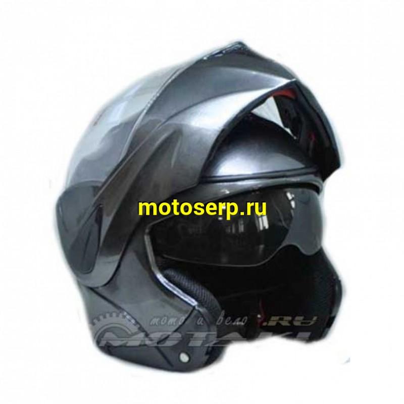 Купить  Шлем трансформер (модуляр) FL-106  с встроенными очками (шт) (Грехнева купить с доставкой по Москве и России, цена, технические характеристики, комплектация - motoserp.ru