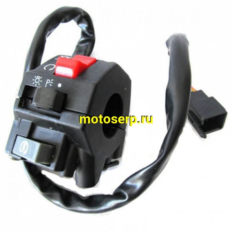 Купить  Переключатели руля (ПК) блок переключателя Stels 400 Cruiser (правый) (шт)  (VM 23Q1035100 купить с доставкой по Москве и России, цена, технические характеристики, комплектация - motoserp.ru
