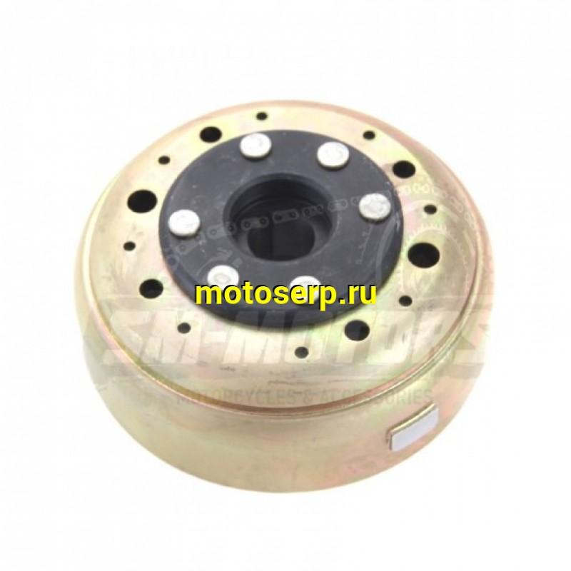 Купить  Ротор генератора (магнит, маховик) 156FMJ (1P56FMJ) YX140 (P040115) (d=mm,  магнитов) ТИП-1  (шт) (SM 291-7787 купить с доставкой по Москве и России, цена, технические характеристики, комплектация - motoserp.ru
