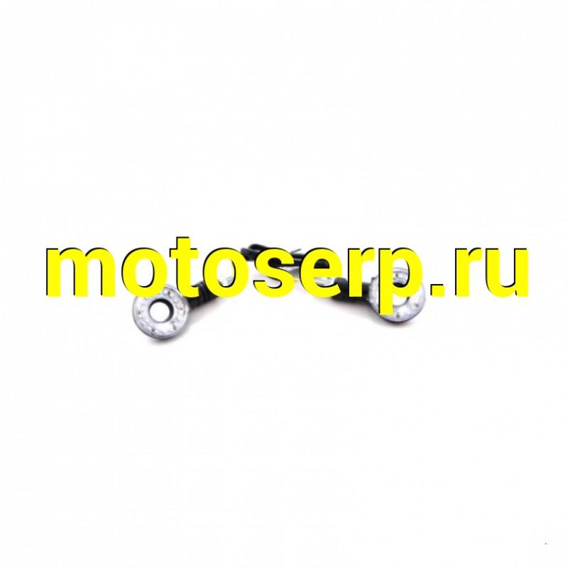 Купить  Поворотники светодиодные (компл. 2шт) SM-PARTS  SMP-13 черные (SM 020246-776-9989 купить с доставкой по Москве и России, цена, технические характеристики, комплектация - motoserp.ru