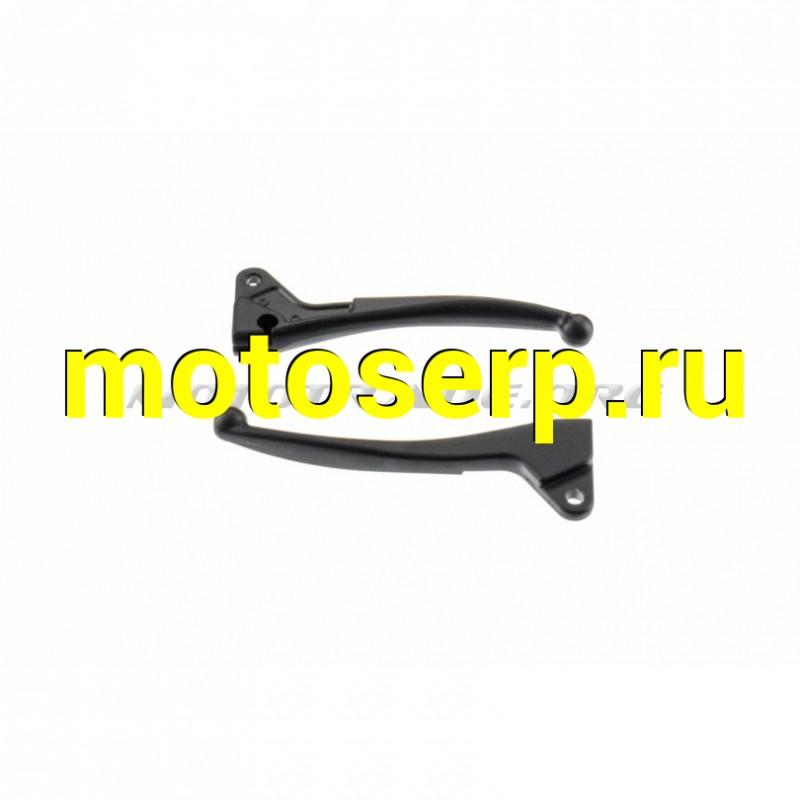 Купить  Рычаги руля (голые)   Yamaha JOG 50   (барабан/барабан, черные)   KOMATCU   (mod.A) (MT R-3207 купить с доставкой по Москве и России, цена, технические характеристики, комплектация - motoserp.ru